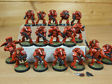 18 IN PLASTICA Rogue Trader era space marine rbt01 ben dipinti (153)