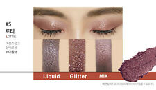 Touch In Sol Metallist Liquid Foil & Glitter Eye Shadow Duo #05Lottie - plum