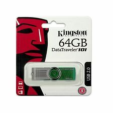 NUOVO KINGSTON DATA TRAVELER DT G2 USB 2.0 PEN DRIVE FLASH MEMORY STICK USB 64GB
