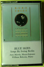 Blue Skies: Songs by Irving Berlin:  William Bolcom & Joan Morris (Cassette) NEW