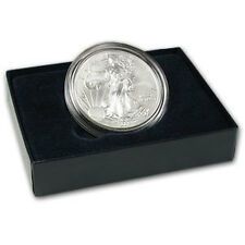 2008-W Burnished Silver American Eagle Coin - Reverse of 2007