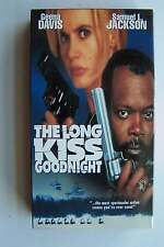 The Long Kiss Goodnight VHS Video Tape
