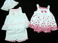 Baby Girl Lot of 2 Pink Outfits Size 0 3 Months