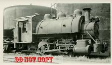 6G248 RP 1937/50s  BOURNE FULLER STEEL CO RAILROAD ENGINE #53 CLEVELAND OH
