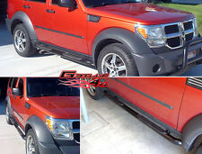 07-11 2011 Dodge Nitro Black Side Step Nerf Bars