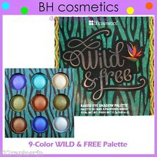 NEW BH Cosmetics 9-Color WILD & FREE Baked Eye Shadow Palette FREE SHIPPING BNIB