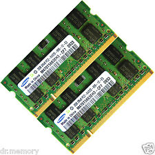 4gb 2x2gb ddr2-800 pc2-6400 Laptop Notebook SoDIMM Memoria RAM 200-pin - Branded