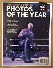 WWE Collector's Edition Photos Of Year Cena Wrestle Dec/Jan 14-15 FREE SHIPPING!