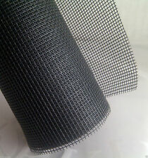 """Black 24"""" x 5' New Insect Mosquito Fly Bug Window or Door Mesh Screen ((Read))"""