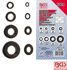 BGS Tools 180 Piece Rubber Grommet Assortment Metric 8125