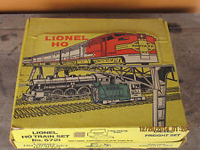 VINTAGE 1950'S LIONEL HO - DIESEL FREIGHT SET # 5721 WITH BOX plus EXTRAS? NICE