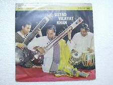 VILAYAT KHAN  SITAR  RARE LP RECORD CLASSICAL INSTRUMENTAL INDIA original VG+