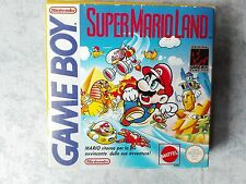 SUPER MARIO LAND NINTENDO GAME BOY - GB COLOR ADVANCE COMPLETO MATTEL ITALIANO