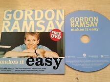 GORDON RAMSAY's MAKES IT EASY Dinner Cook Prepare Recipe Step By Step Guide DVD