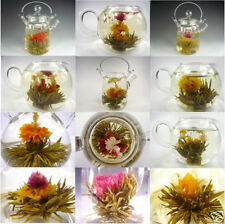 New 10pcs Tied Handmade Blooming Jasmine Flower Flowering Green Tea Ball Herb