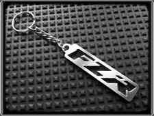 KEYRING for YAMAHA FZR FZ R - STAINLESS STEEL - HAND MADE - CHAIN LOOP FOB