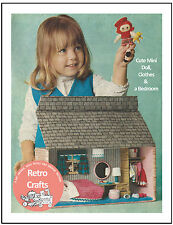 1960's Doll & House Sewing/Craft Pattern - Copy