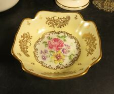 "Lovely 5"" Hand Painted Bowl/Dish Made in France Unknown Maker"