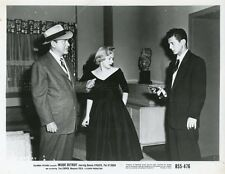 DENNIS O'KEEFE PAT O'BRIEN TINA CARVER INSIDE DETROIT 1956 10 VINTAGE PHOTOS LOT