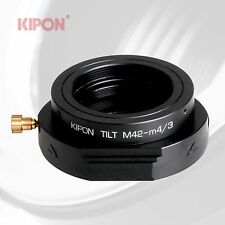 New Versio Kipon Tilt Adapter for M42 Lens to Micro Four Thirds M4/3 MFT Camera