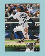 CURTIS GRANDERSON   2010 UPPER DECK   # 202  OUTFIELD  DETROIT TIGERS   BASEBALL