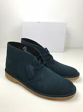 BNIB CLARKS ORIGINALS MENS DESERT BOOTS SHOE MIDNIGHT NAVY BLUE SUEDE UK 10