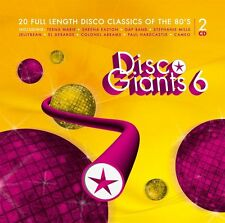 Disco Giants  Volume 6 (2-CD) Great 80's 12 inches