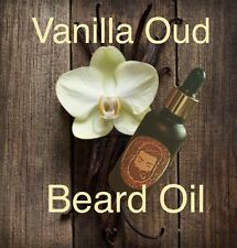 Vanilla Oud Beard Oil, 30ml/1oz Liquid