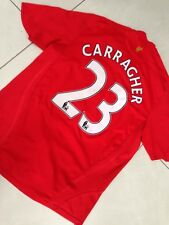 Men's Liverpool Football Home Shirt CARRAGHER 2008-2010 Jersey England Trikot L