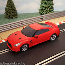Scalextric 1:32 Drift Car-Rojo Nissan GT-R