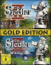 DIE SIEDLER 2 Vollversion + WIKINGER =GOLD *DEUTSCH Top Zustand