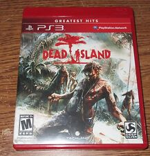Dead Island Sony Playstation 3 2011 Used Video Game Box Book Play Station