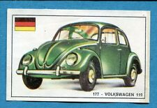 STORIA DELL'AUTOMOBILE Panini Figurina-Sticker n. 177 - VOLKSWAGEN 119 -Rec