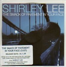 (208D) Shirley Lee, The Smack of Pavement in Your DJ CD