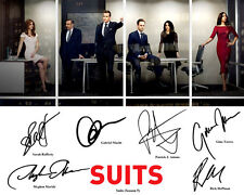 Suits Season 5 Gabriel Macht Patrick J Adams Cast Signed Photo Autograph Reprint