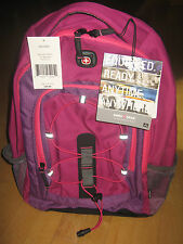 "Brand New Swissgear Mars Magenta/Pink 16"" Laptop Carrying Case Backpack MSRP $40"