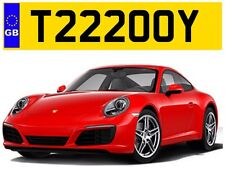 T222 OOY TROY TROYS TOY TOYA TOYAH TOYOTA TERRY PRIVATE NUMBER PLATE AUDI BMW