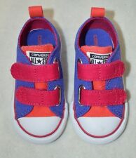 Converse Toddler Girl's CT 2V OX Periwinkle / Berry Sneakers - Asst Sizes