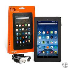Amazon Kindle Fire 7-inch IPS GB Black w/ Front & Rear Camera-Brand New Model