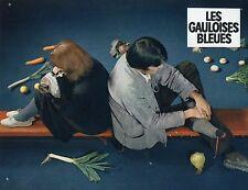 NELLA BIELSKI JEAN-PIERRE KALFON LES GAULOISES BLEUES 1968 PHOTO D'EXPLOITATION