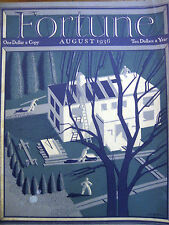 FORTUNE August 1936 Chicago political machine, Rochester IN, US Polo, John Deere