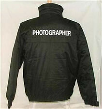 Photographer Waterproof Jacket Embroidered Front & Bak