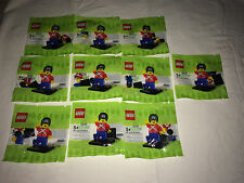 50x LEGO PROMO SET BAG - EXCLUSIVE BR - TOYS - LEGO MINIFIG  - NEW - NEW 5001121