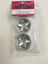 Top Line 1:10 Scale RC Drift wheels N Model Ver. 2 OFFSET6 Matte Silver