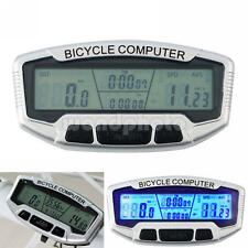 2016 SD-558A Wired LCD Bicycle Cycling Computer Odometer Speedometer Velometer