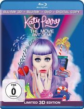 KATY PERRY: PART OF ME, The Movie (Blu-ray 3D + Blu-ray Disc + DVD) NEU+OVP