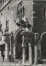 CARTOLINA VIAGGIATA ( 1956)_ FERRARA - STATUA DEI DUCHI NICOLO' E BORSO D'ESTE
