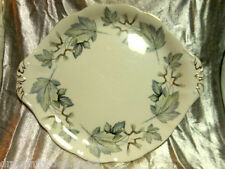 "ROYAL ALBERT - FINE CHINA ENGLAND Handled Cake Plate 10"" - ""SILVER MAPLE"""