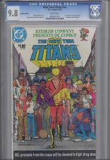 The New Teen Titans #nn  CGC 9.8 1983 Keebler One Shot Drug Issue: 1, 2, 3, 4