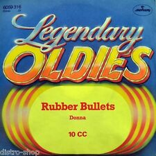"7"" TEN 10 CC Rubber Bullets b/w Donna KEVIN GODLEY MERCURY Legendary Oldies 1973"